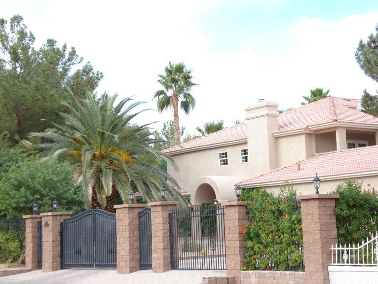 Privately Gated Property - Quail Estate - Exclusive Privately Gated Estate - Las Vegas - rentals