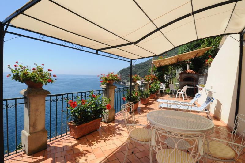 Private roof terrace - Amalfi Coast - Romantic cottage on the sea - Ravello - rentals
