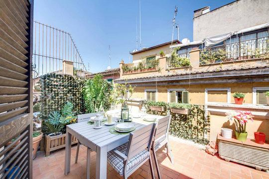 Trastevere Terrace *** Cocoon Cocoon (ROME) - Image 1 - Rome - rentals
