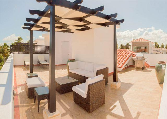 Private Rooftop terrace with BBQ - Exclusive Use of this condo - Corte Sea C301 - Walk to the Beach, Inquire About Discount Promo Code - Punta Cana - rentals