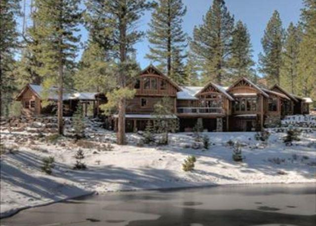 Rear Exterior - MorningStar -  5 BR Golf Course Home with Hot Tub and Great HOA Amenities - Truckee - rentals