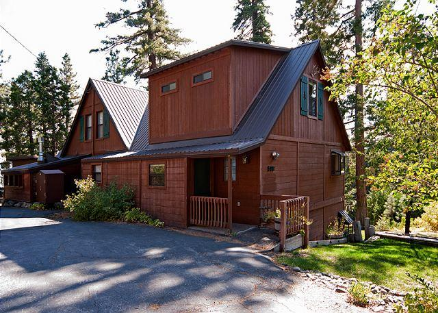 Front Exterior - 4 BR Lake View, Easy Walk to Lake w/ a Hot Tub - Sleeps 12 - Only $350/nt*** - Tahoe City - rentals
