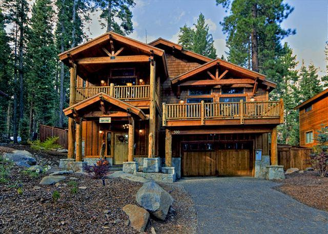 Front Exterior - Olive Branch -  4 BR Home with Choice Mountain Décor - Hot Tub & Pet Friendly - Carnelian Bay - rentals