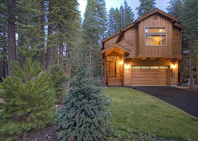 Front Exterior - WS BLISS -Beautiful West Shore 3 BR Sleeps 9, Hot Tub - $250-275/nt in APR - Tahoma - rentals
