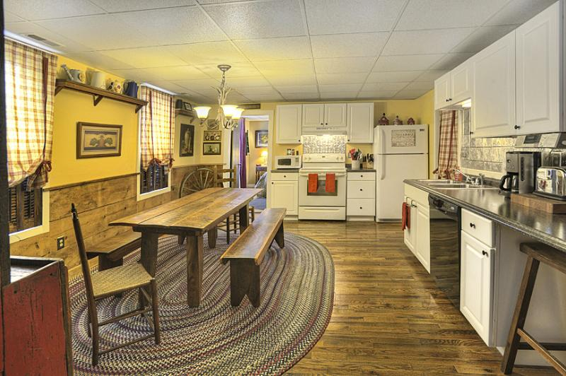 Fully Stocked Kitchen - We invite you to stay in our Historic Pre Civil War 4 Bedroom, 2 bath Home - Gettysburg - rentals