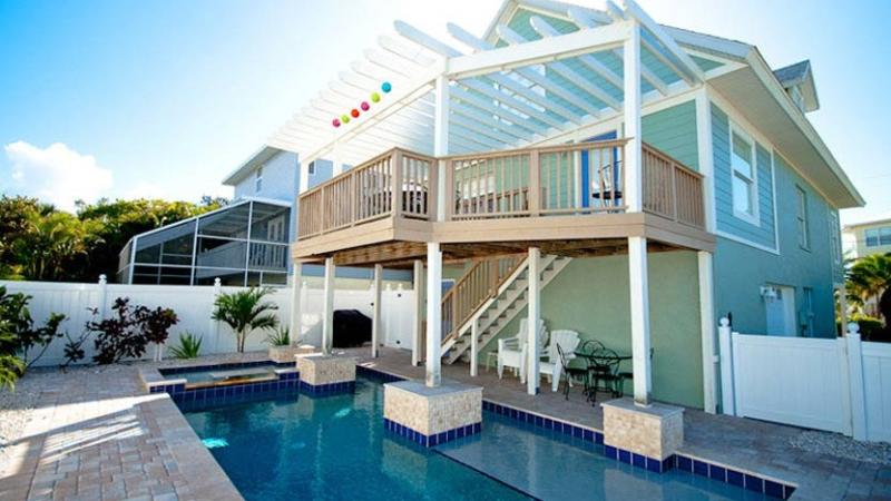 New Pool Installed! - AMI Retreat: 3BR Pool Home 200 Steps from Beach - Anna Maria - rentals