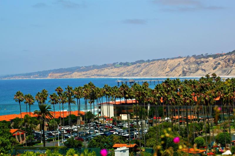 Amazing views from the sweeping patio. - 20% off WINTER SPECIAL - Pacific View - La Jolla - rentals