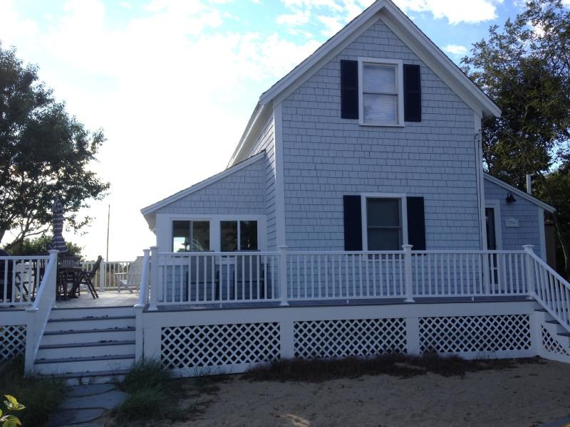 Wrap Around Deck with Bay Views! - Bay View on Cape Cod Bay; Only 50 Yds. to Campgrou - Eastham - rentals
