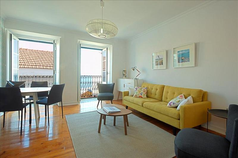 Remedios V - bright, sunny with river view , fantastic location in historic center - Image 1 - Lisbon - rentals