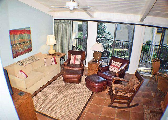Beach Villa 13 - Oceanside Updated 3 Bedroom Townhouse - Image 1 - Hilton Head - rentals