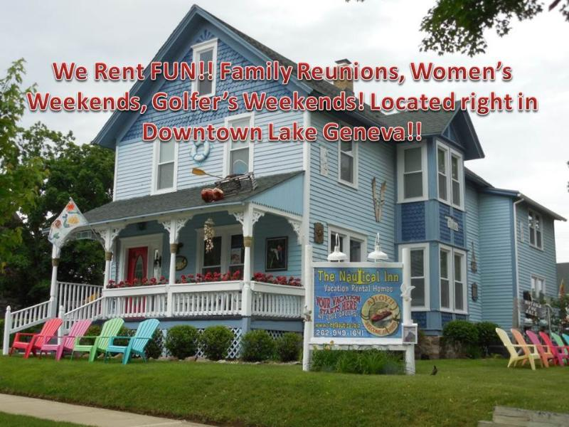 Nautical Vacation Rental Homes of Lake Geneva!! - Image 1 - Lake Geneva - rentals