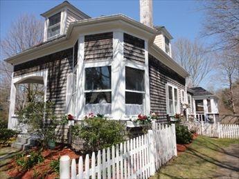 Front Cottage with Guest cottage behind - Pocasset Vacation Rental (106224) - Pocasset - rentals