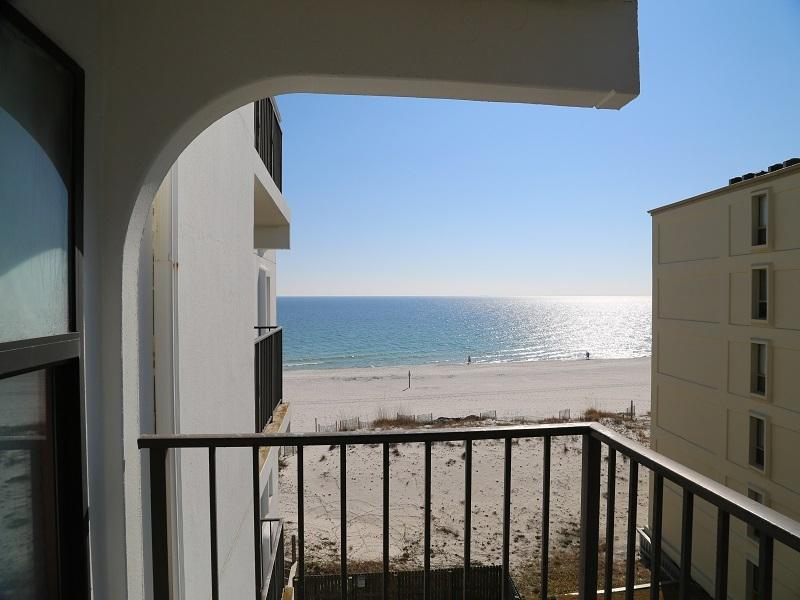 Gulf and beach view from balcony - Island Sunrise 469 - Free Night! - Gulf Shores - rentals
