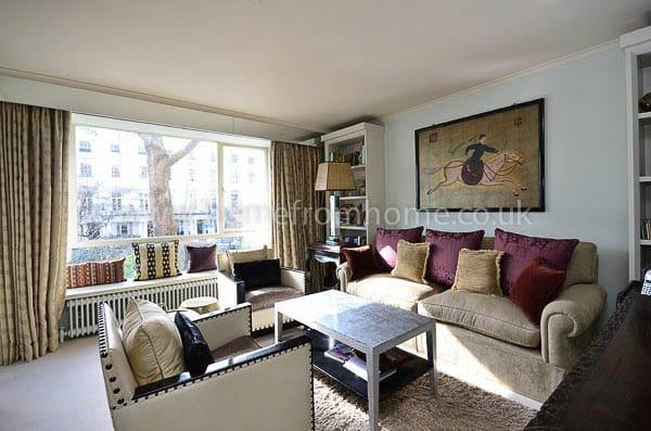 Grand period apartment on garden square- Knightsbridge - Image 1 - London - rentals