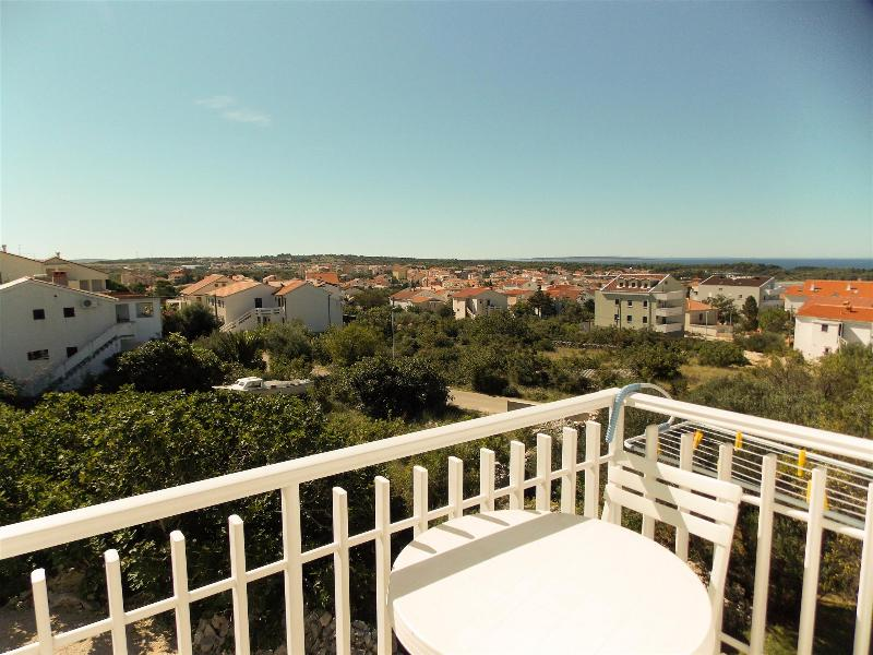 Beautiful apartment Adam 4.2 for 4 persons in Novalja overlooking the sea - Image 1 - Novalja - rentals