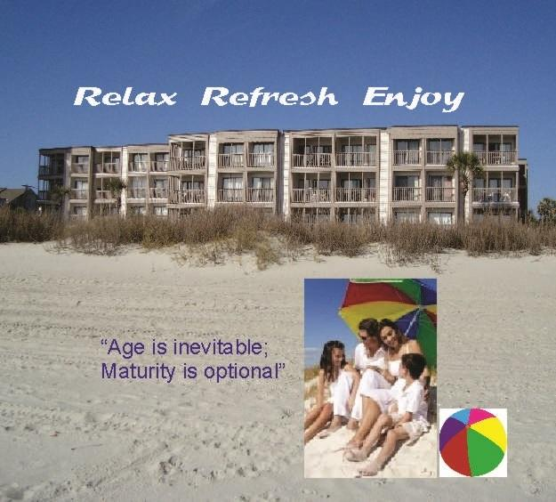 Sunshine and Sand. Direct Ocean Front Corner Unit. - FAMILY PERFECT! - North Myrtle Beach - rentals