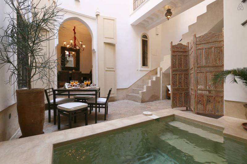 RIAD ETHNIQUE ENTIRE RENT MEDINA  WI-FI & POOL - Image 1 - Marrakech - rentals