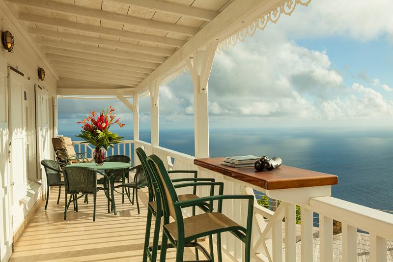 Choose your breakfast spot - Spyglass - Saba villa with breath-taking view - Saba - rentals