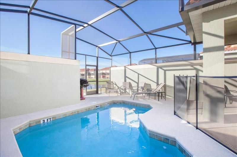PARADISE PALMS RESORT  JEV5BD-4BA POOL-LAKEFRONT AWARD WINNER GREAT COLLECTION -  7 miles to Disne - Image 1 - Kissimmee - rentals