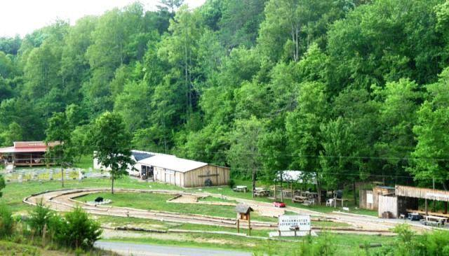View from cabin - Hilltop Cabin - Murphy - rentals