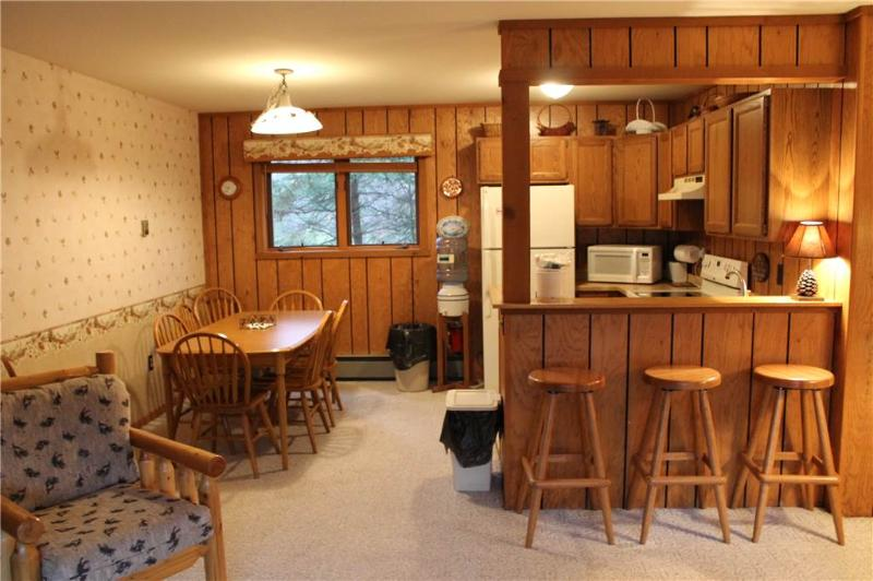Located at Base of Powderhorn Mtn in the Western Upper Peninsula, An Enjoyable Duplex with Private Whirlpool Tub 1 Block from Main Ski Lodge - Image 1 - Ironwood - rentals