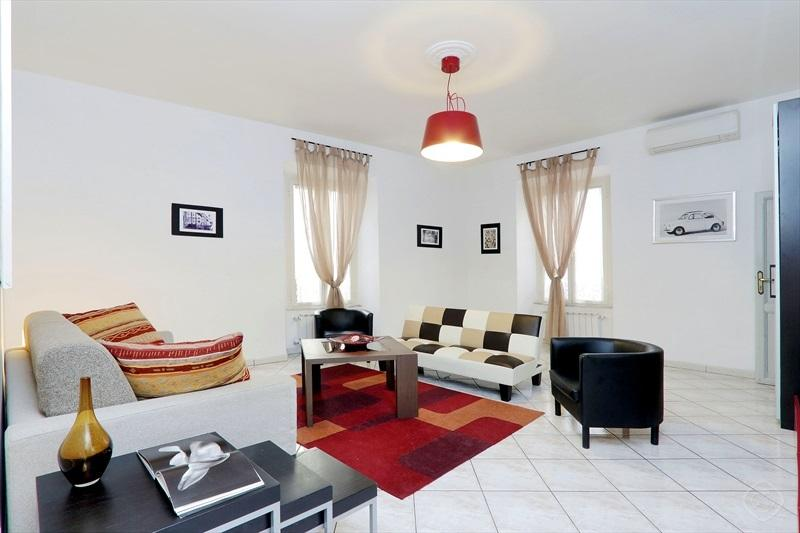 Living Room  / Third Bedroom - SPRING BREAK IN ROME: up to 20%off! - mok'house - Rome - rentals