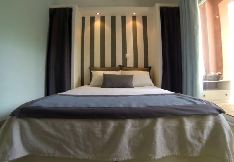 the master bedroom - Lovely Apartment (sleeps 5), N.Marmaras,Chalkidiki - Neos Marmaras - rentals
