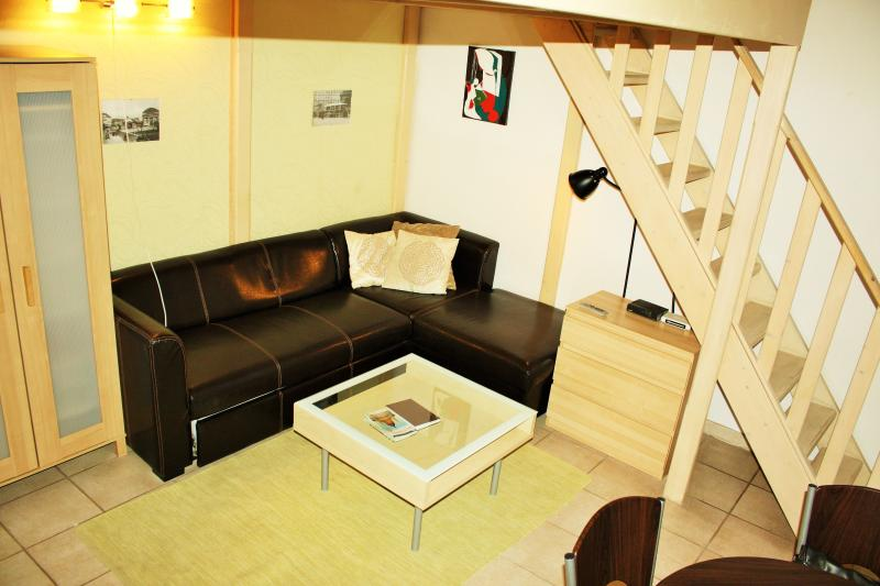 guestroom - Piano POP Apartments, Duplex studio apartment - Budapest - rentals