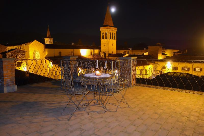 Reserve a table for two - Charming and romantic Tower with amazing terrace - Sansepolcro - rentals