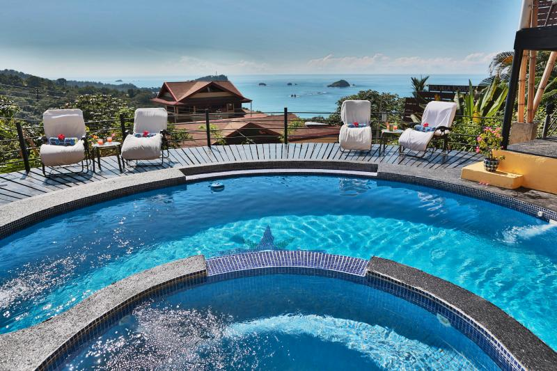 Large Pool for the Adults . . .Smaller for The Kids - 81* Five-Star Reviews & 10 Years' Stellar Service: We Do Everything for You ! - Manuel Antonio National Park - rentals