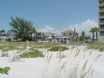 2 cottages on this beachfront property - Beach Cottage  3 bedroom - Indian Shores - rentals