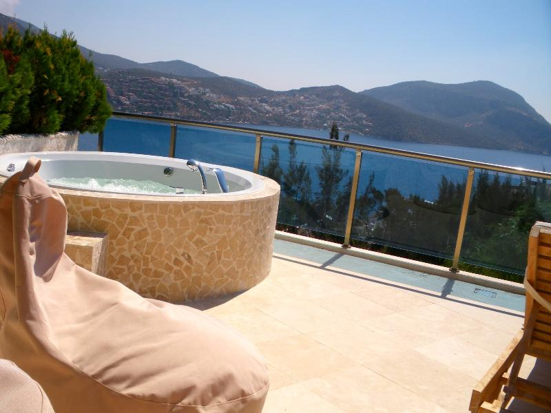 Caro - Relax in the spa bath and take in the sea views - Asfiya Retreat - inc apartments with private pools - Kalkan - rentals