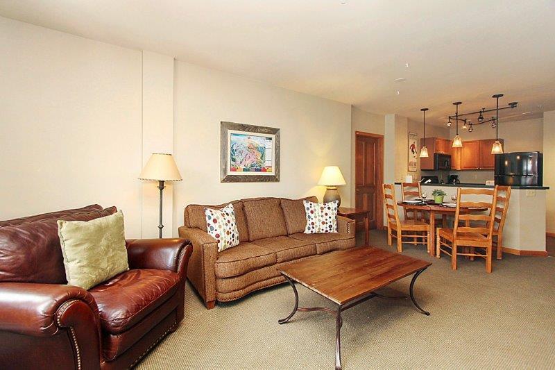 Relaxing fifth floor condo - Zephyr Mountain Lodge 2510 - Winter Park - rentals