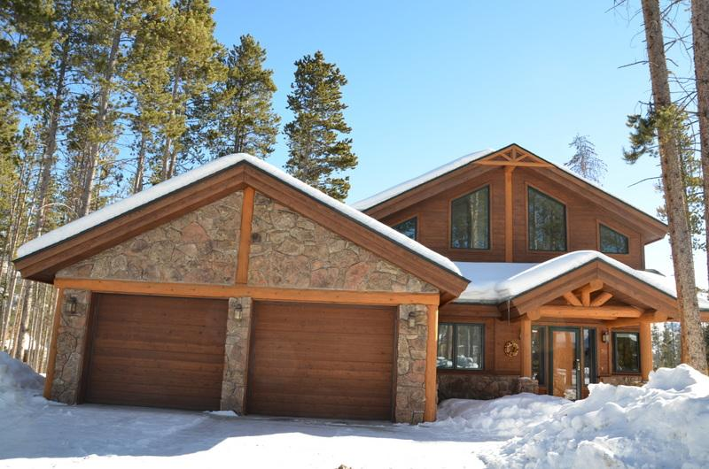 Front Exterior with one car owner's garage and one car garage for your use - Dakota Ridge - Winter Park - rentals