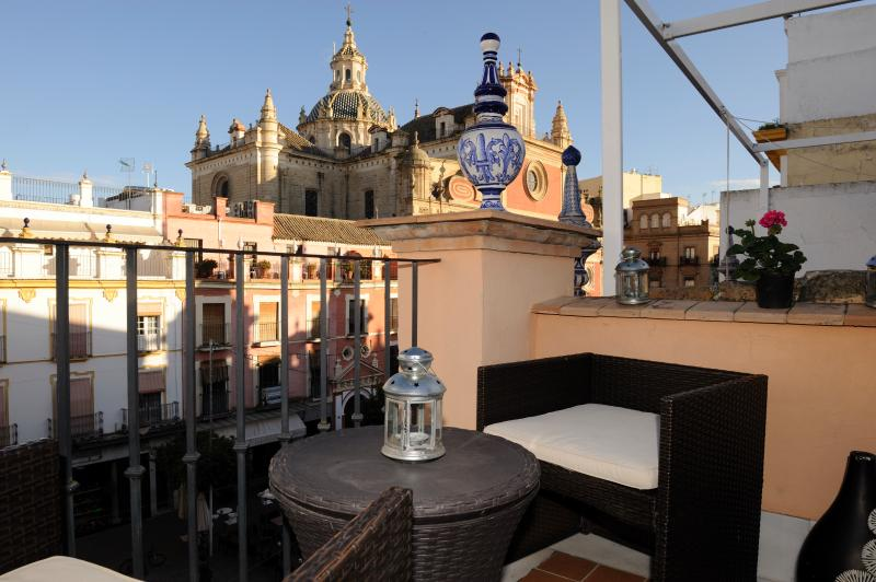 Wonderful Duplex Terrace Center Of Seville  wifi. - Image 1 - Seville - rentals