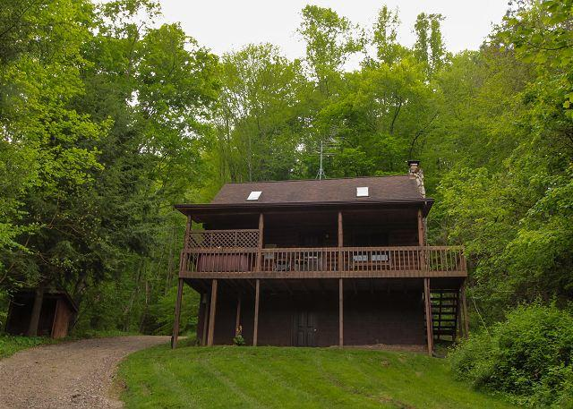 Pioneer Log Cabin Rental - Image 1 - South Bloomingville - rentals