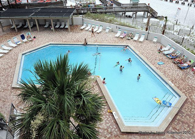 View from the Wrap-Around Balcony - Oceanfront Three-Bedroom, Beachside Condo with Wrap-Around Deck! - Sandestin - rentals