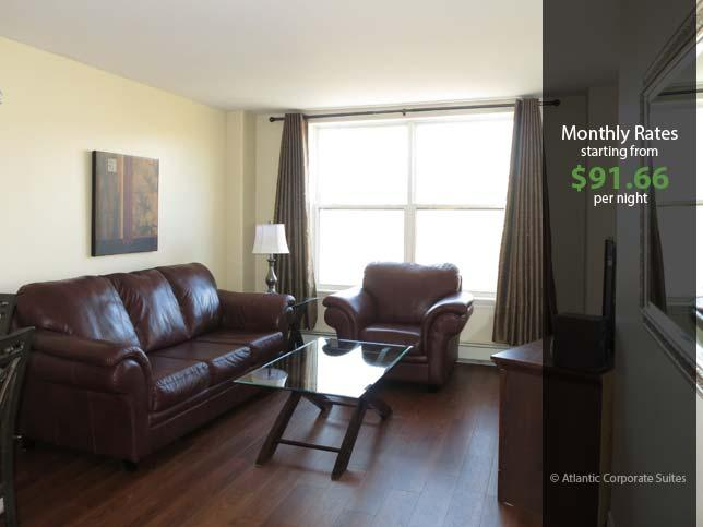 Living Room - Direct View of Citadel Hill - Halifax - rentals