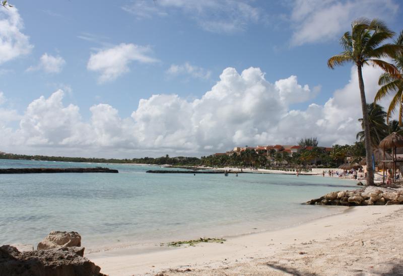 Private Beach - MAYAN RIVIERA OCEANFRONT CONDO - P. AVENTURAS - Puerto Aventuras - rentals
