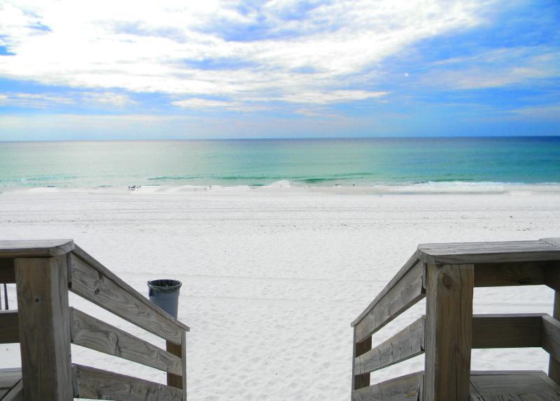 Nautilus 1101 - Book Online! GROUND Floor BeachFront 3BR/2.5BAon Okaloosa Island! Buy 3 nights or more get 1 FREE thru Feb 2015! - Image 1 - Fort Walton Beach - rentals