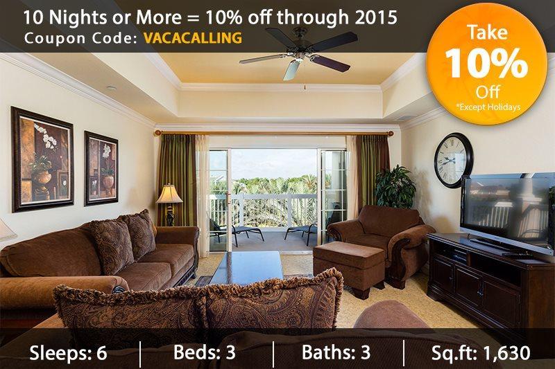 Cabana Paradise - 3 Bed Condo - Image 1 - Reunion - rentals