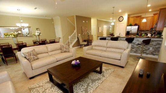 Beautiful 9 Bedroom 5 Bathroom Luxury Pool Home in ChampionsGate. 1524MVD - Image 1 - Kissimmee - rentals