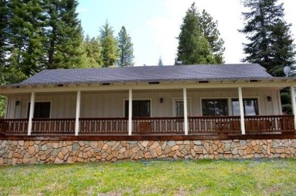 Front of House - McGovern - West Shore Home with Mountain Views - Lake Almanor - rentals