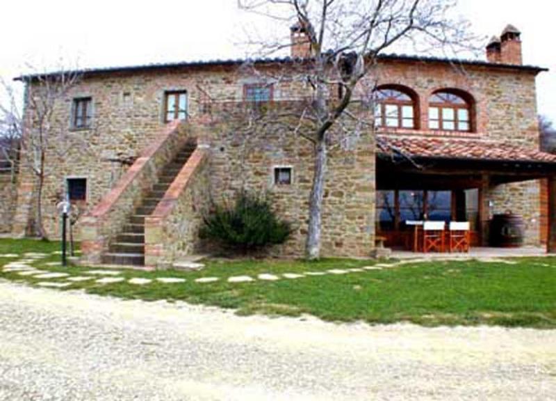 Front view of the villa - Villa Antico Podere - Arezzo - rentals