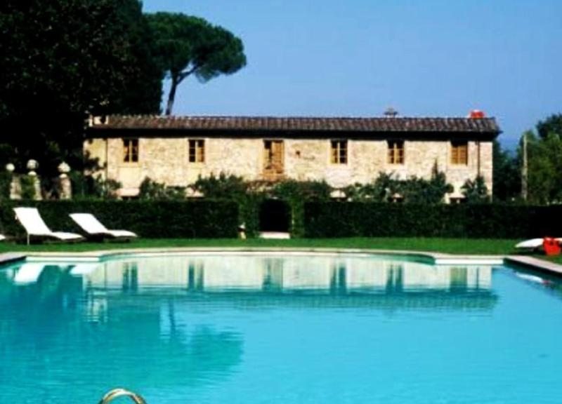 View of the swimming pool in Villa Borgo Casimo - Villa Borgo Casimo - Capannori - rentals