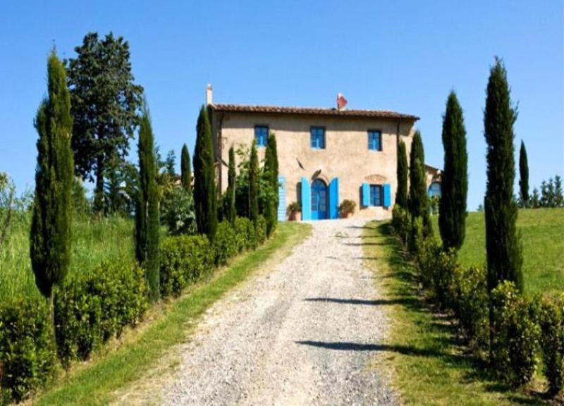 View of the villa in long - Podere Etruschi - Cecina - rentals