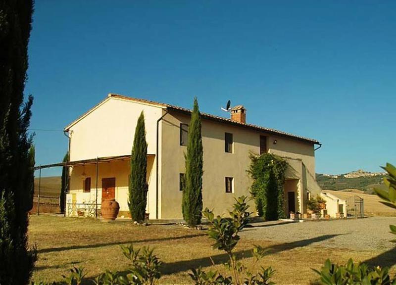 View of the villa - Farmhouse Podere Pienza - Pienza - rentals