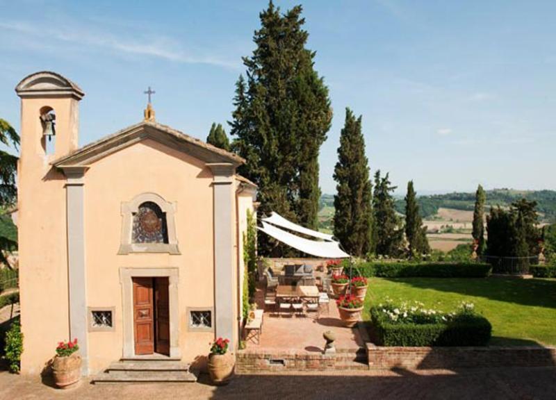 Long view of the villa and garden - Villa Conti - Castelfiorentino - rentals