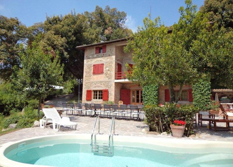 View of the Villa Evergreen with swimming pool - Villa Evergreen - Gambassi Terme - rentals
