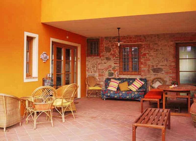 Veranda view of the villa - Villa Enrica Apartment - Capannori - rentals